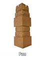 Наружный угол Фигурный к коллекции Фасадная плитка